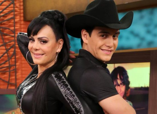 Julián Figueroa en vivo con Maribel Guardia